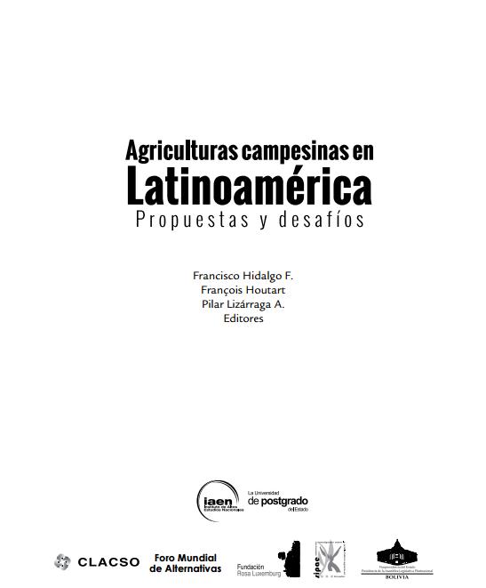 Agriculturas campesinas en Latinoamerica - capa
