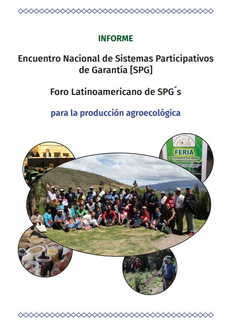 Encuentro Nacional de Sistemas Participativos de Garantía