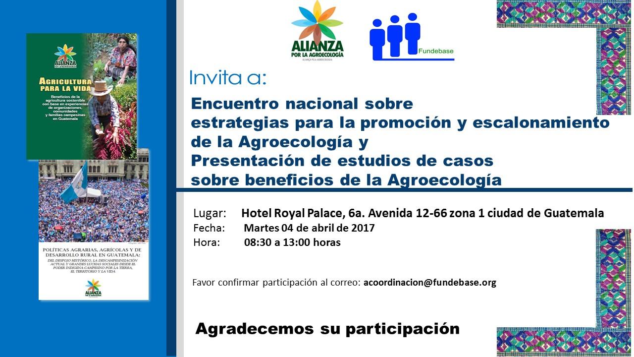 Alianza por la Agroecología: GUATEMALA