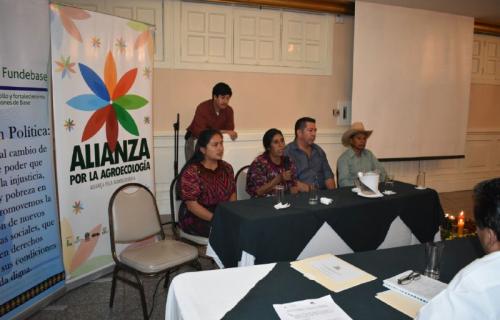 Guatemala - lanzamiento de los estudios