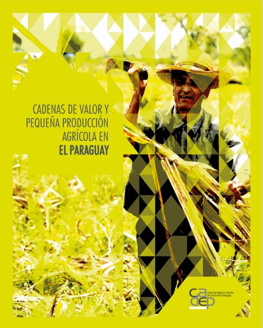 Libro - Paraguay - Cadenas de valor - capa