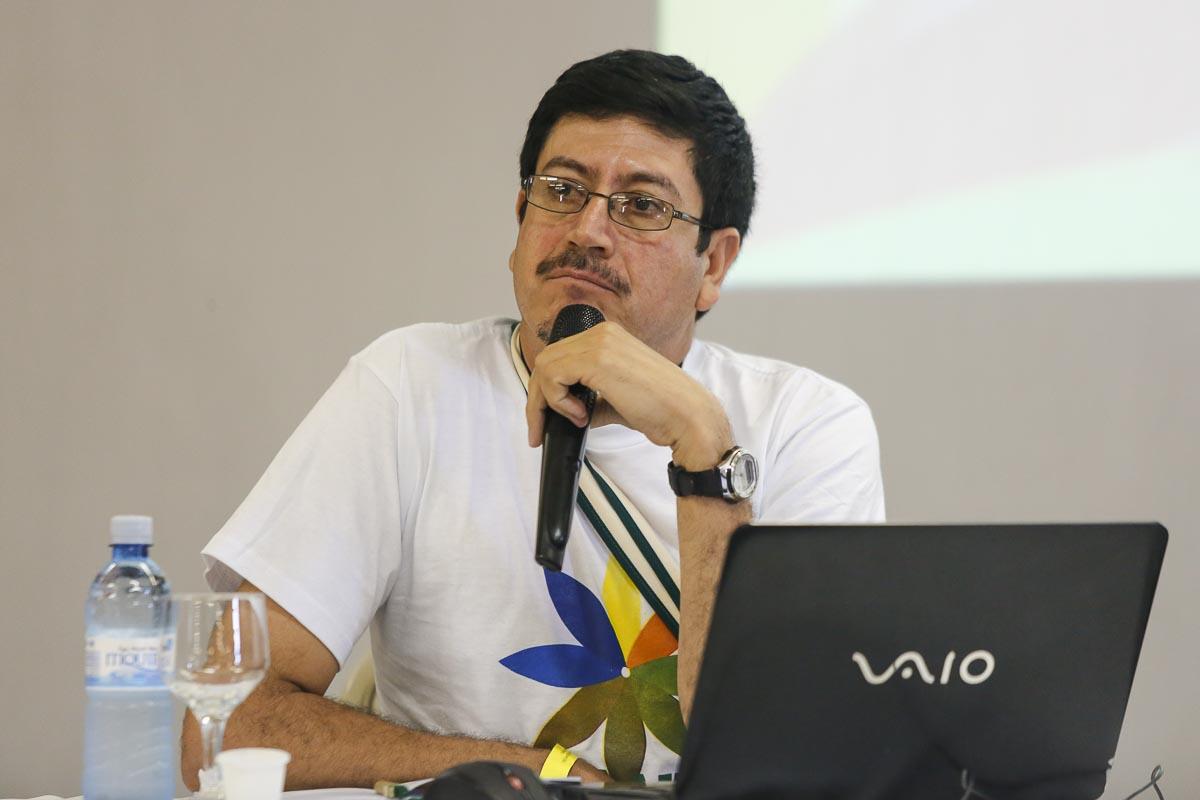 Aníbal Salazar, de Fundebase, de Guatemala